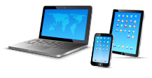 Laptop, tablet, mobile