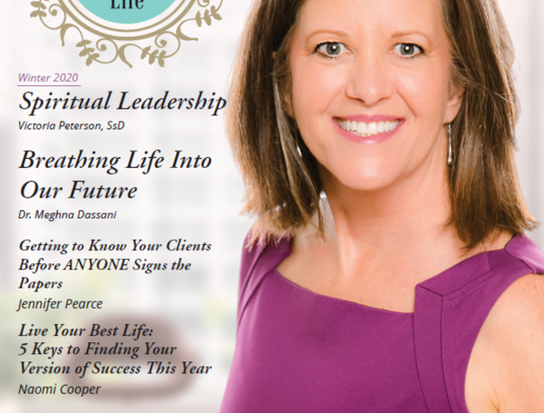 Co-Founder and CEO Victoria Peterson Featured as Cover Article in DeW Life Magazine – Winter 2020