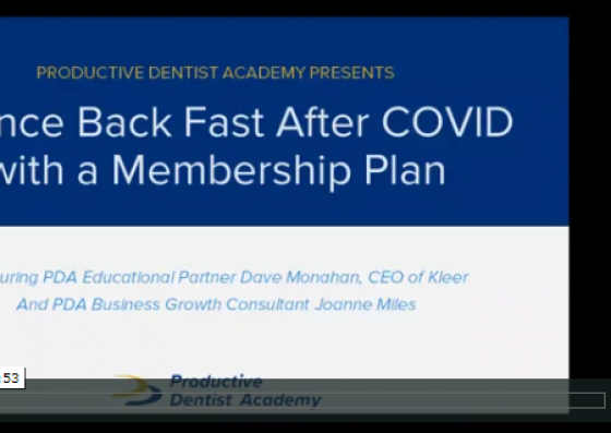 Bounce Back Fast After COVID with a Membership Plan