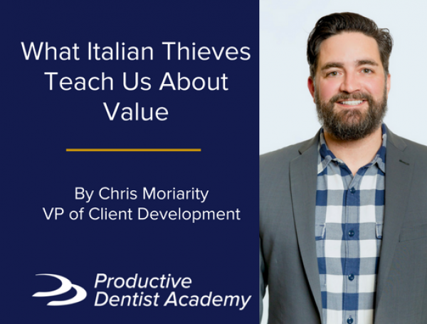 What Italian Thieves Teach Us About Value