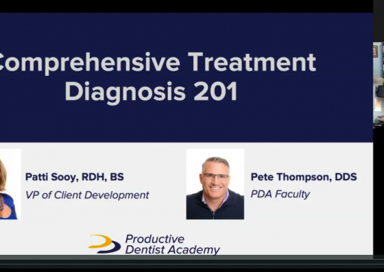 Comprehensive Treatment Diagnosis 201