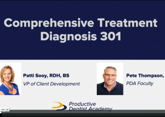 Comprehensive Treatment Diagnosis 301